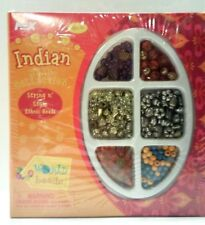 Ethnic Beads by Nex World Beads Indian Bead Collection Set. String N' Style