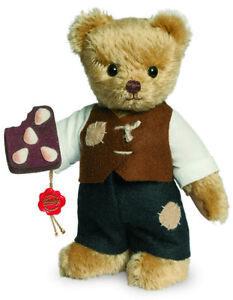 teddy Hermann 'Hansel' limited edition collectable mohair teddy bear - 11846