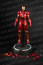 HOT TOYS Iron Man 3 Mark IX MK 9 Tony Stark 1/6 Figure LOOSE
