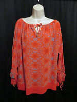 Jean Paul Gaultier Rare Fuzzi Top Knit Colorful Slit Sleeves Layered Mesh Size M
