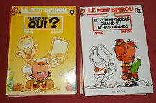 LE PETIT SPIROU LOT BD 10 ALBUMS N° 1 A N° 10  N° 3 A N° 10 EN EO  TOME ET JANRY