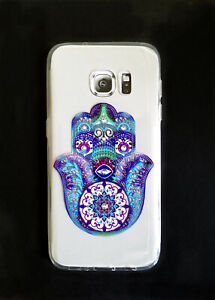 Hamsa Series Slim High Quality Crystals Protective Case for Samsung Galaxy S7
