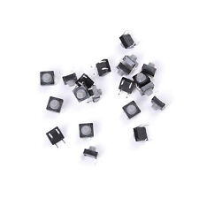 20pcs 8x8x5MM 4PIN Tactile Button Micro Switch Direct Self Reset Soundless  j0y