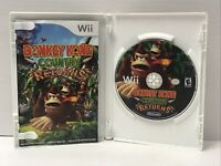 Donkey Kong Country Returns (Nintendo Wii, 2010) CIB Complete w/ Manual