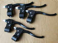 BIKE lot of 5 Right hand BRAKE LEVERS Black bicycle.bike,cycle FREE POST
