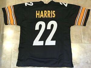 UNSIGNED CUSTOM Sewn Stitched Najee Harris Black Jersey - M, L, XL, 2XL