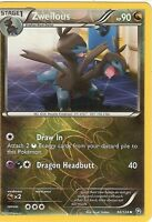 POKEMON BLACK AND WHITE DRAGONS EXALTED - ZWEILOUS 96/124 REV HOLO