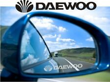 Daewoo Sticker Decal Etched Glass Effect for Mirror Style
