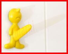 Mr P crochet salle de bains JAUNE  PROPAGANDA wall hook zizi gay friendly NEW