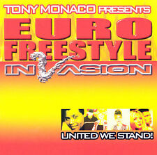 TONY MONACO PRESENTS : Euro Freestyle Invasion CD
