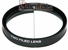 62mm Split Field Two Field Special Effects Lens Filter Different Depth of View