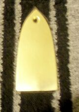 Truss Rod Cover - solid BRASS - UNI-Fit