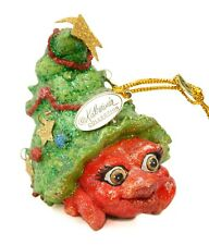 Katherine's Collection Composite Glitter Tree Hermit Crab Christmas Ornament