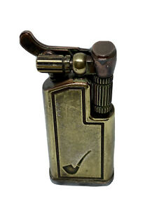 Vintage Maruman GL 67 Collectable Brass Lighter Made in Japan