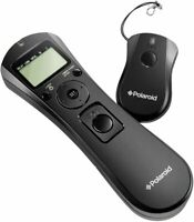 Polaroid Wireless Camera Shutter Remote With Interval Timer For Nikon D90 D3100+