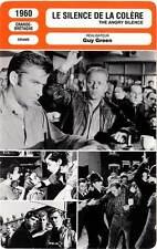 FICHE CINEMA : LE SILENCE DE LA COLERE - Attenborough,Angeli 1960 Angry Silence