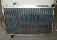 QLD Aluminum Radiator for Nissan Fairlady 350Z Z33 2003 2004 2005 2006 Auto MT