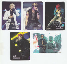 Korea POP KPOP K-POP BIGBANG 5 card SeungRi TaeYang DaeSung G-Dragon Top 67