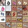 Women Various Styles Earrings Tassel Hook Drop Dangle Acrylic Ear Studs Jewelry