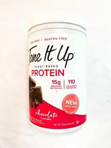 Tone It Up Plant Based Protein CHOOSE FLAVOR 14.32 oz. Exp 4/2022
