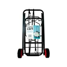 New Luggage Cart Heavy Duty Folding Roller Carts With Wheels Carrier Foldable