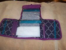 from Von Maur purple color New fold over jewelry roll storage