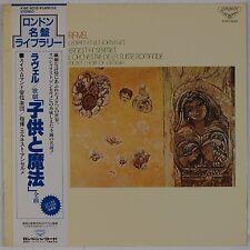 RAVEL: Le Enfant (Ansermet) LONDON Japan London Vinyl LP NM