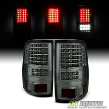 Smoked 2004-2008 Ford F150 F-150 LED Brake Tail Lights Lamps Left+Right 04-08