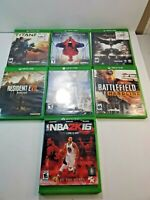 Xbox One Lot Of 7 Games Microsoft Destiny NBA2k16 Batman