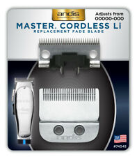 """Andis #74045 Master Cordless Li """"Fade"""" Blade Adjustable Clipper Replacement Fade"""