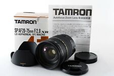 """Tamron SP AF 28-75mm F/2.8 XR Di LD Aspherical Macro for Canon EF """"Exc++"""" #21028"""