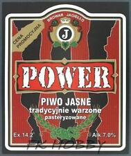 Poland Brewery Pokrówka Power Beer Label Bieretikett Etiqueta Cerveza pk2.1