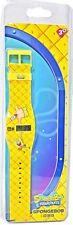Reloj de Pulsera nuevos niños Nickelodeon LCD Sponge Bob Squarepants LCD niños