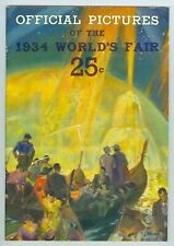 Nice 1934 Official Pictures, Chicago World's Fair, Booklet, 120+ Photos