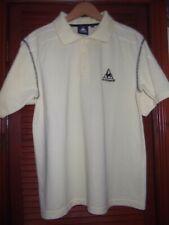 Lecoqsportif yellow polo shirt size m