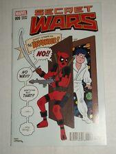 Marvel Secret Wars #9 1:25 Hembeck Deadpool Variant