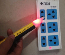 hot New Useful Yellow 1AC-D LED Power Alert Pen Non-Contact Test Pencil Tester