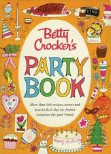 Betty Crocker's PARTY BOOK More than 500 Recipes, menus and how-to-do-it tips