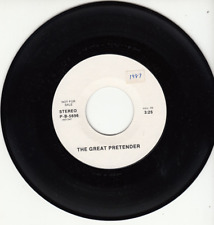 FREDDIE MERCURY (QUEEN) - THE GREAT PRETENDER - PROMO ADVANCE 45 - RARE ISSUE