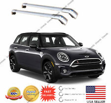 Sliver Top Roof Rack Fit FOR 2016 -2019 MINI CLUBMAN Baggage Luggage Cross Bar