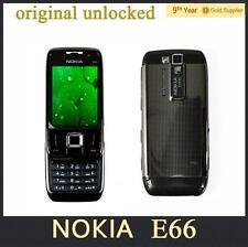 Original Liberado Nokia E66 GSM WCDMA WIFI Bluetooth 3.15MP Cámara teléfonos celulares