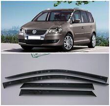 For VW Touran 2003-2010 Side Window Visors Sun Rain Guard Vent Deflectors