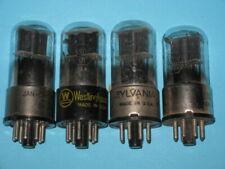 6SQ7 GT - TV AUDIO GUITAR AMPLIFIER HAM RADIO tube -- lot of 4