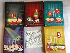 South Park Seasons 1-5 & Original Unaired Pilot Dvd - Used