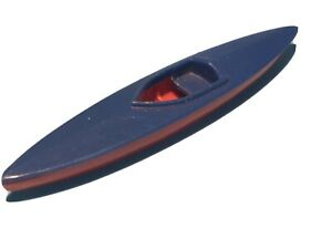 TRI-ANG SPOT-ON TOYS 274 MORRIS 1100 CAR CANOE SET ORIGINAL PLASTIC KAYAK RARE