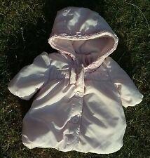 ZIP ZAP Pink Girls Jacket 0-6 months