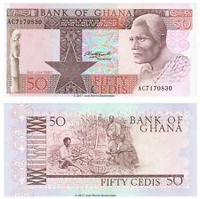 Ghana 50 Cedis 1980 P-22b Banknotes UNC
