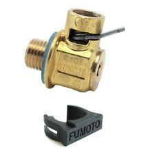 Fumoto F106 Quick Oil Drain Valve M14-1.5 and LC-10 Clip
