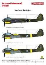 Techmod Decals 1/32 JUNKERS Ju-88A-4 German & Finnish WWII Bomber Part 1