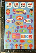 RELIGIOUS STICKERS BY CREATOLOGY, ONE SHEET BEAUTIFUL STICKERS #DOVE30